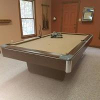 8 over Big G Gandy Pool Table with Accessories