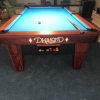 Diamond Pool Table 9ft