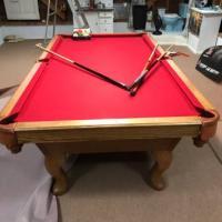 Oak Gibraltar Pool Table