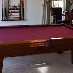 Fischer Pool Table (POOL TABLE SOLD)