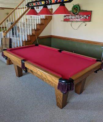 Connelly Reddington Ash Pool Table