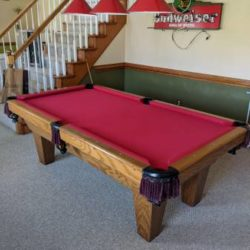 Connelly Reddington Ash Pool Table
