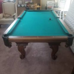 Peter Vitalie 8' Pool Table (SOLD)