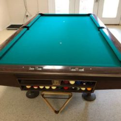 Brunswick Gold Crown Pool Table