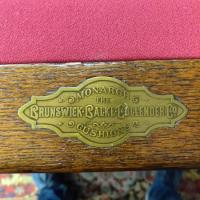 100 Years Old Pool Table